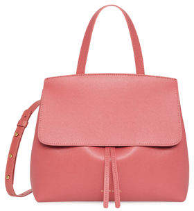 Mansur Gavriel Mini Lady Saffiano Satchel Bag