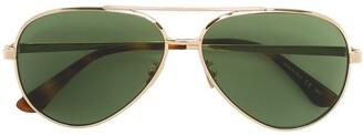 Saint Laurent Eyewear Classic 11 aviator sunglasses