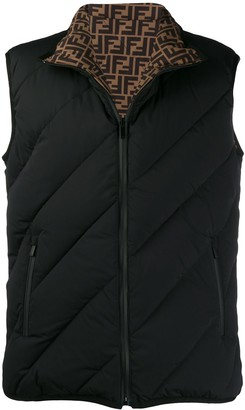 Fendi Quilted Padded Gilet
