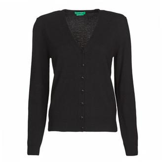 Benetton 1002D6879 women's Cardigans in Black