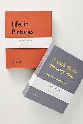 Printworks Photo Album By Printworks in Orange Size ALL