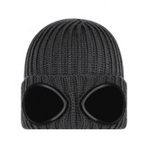 C.P. Company C.P. CompanyBoys Grey Knitted Goggle Hat