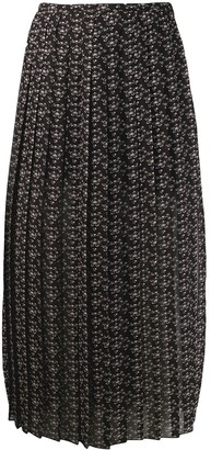 See by Chloe Micro Bisou print skirt