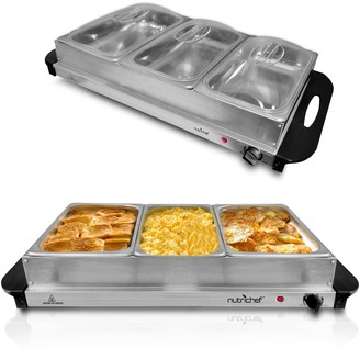 Nutrichef Electric Hot Plate Food Warmer