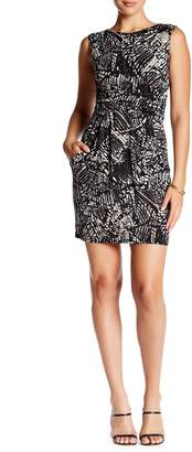 Papillon Two Pocket Ruched Dress
