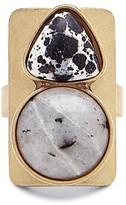 Sole Society Gem Stone Block Ring