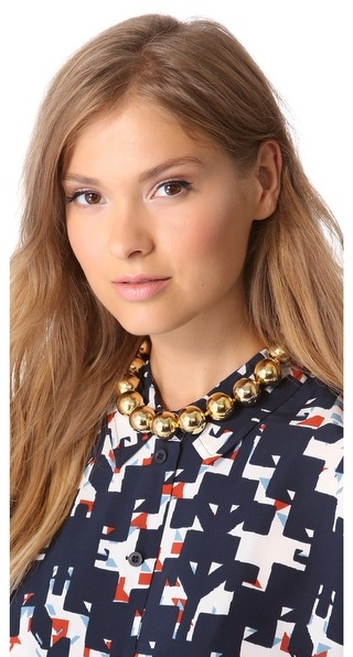 Kenneth Jay Lane Bead Necklace