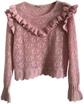 LoveShackFancy Pink Cotton Knitwear