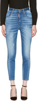DSQUARED2 Blue Twiggy Jeans