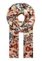 Hallhuber Floral print silk scarf