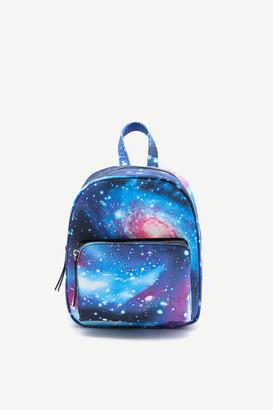 Ardene Mini Galaxy Print Backpack