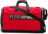Plein Sport - embossed logo holdall - men - Nylon/Polyester/Polyurethane - One Size