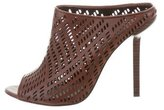 Elizabeth and James Laser Cut Slide Sandals