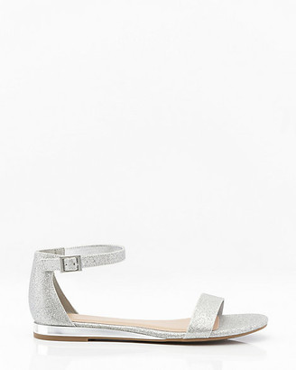 Le Château Electroplated Ankle Strap Sandal
