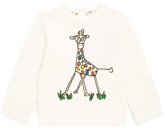Stella McCartney Giraffe Print Sweatshirt