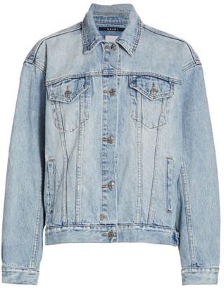 Ksubi Bring Back Life Oversized Denim Jacket