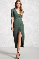 Forever 21 Wrap-Front Midi Dress