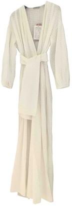 Three Graces London White Cotton Dresses