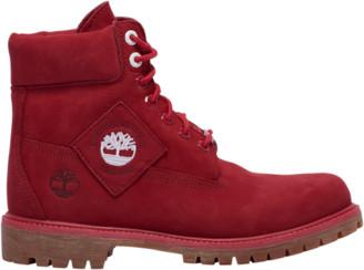 "Timberland 6"" Premium Waterproof Boots Outdoor Boots - Red"