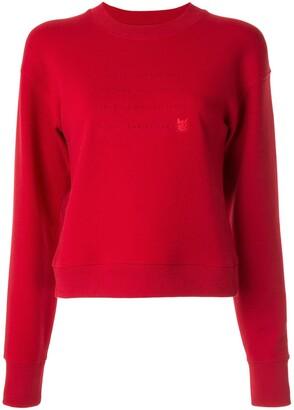 CK Calvin Klein Lunar New Year slogan sweatshirt