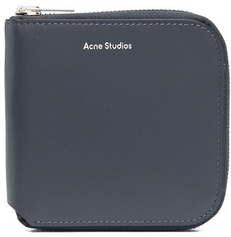 Acne Studios Medium Zipped Bifold Wallet