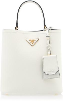 Prada Textured-Leather Tote Bag