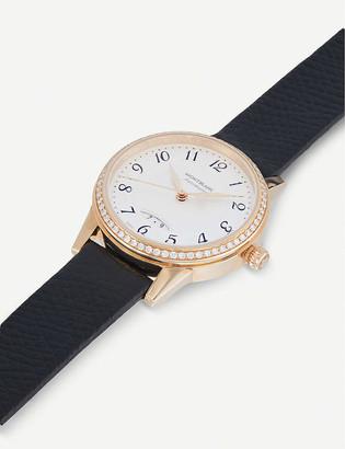 Montblanc 111059 Boheme rose-gold and diamond watch