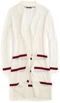 Tommy Hilfiger Striped Open Cardigan