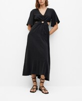 Thumbnail for your product : MANGO Side Slit Dress