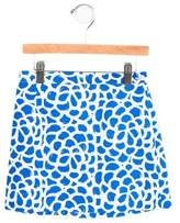 Oscar de la Renta Girls' Printed A-Line Skirt
