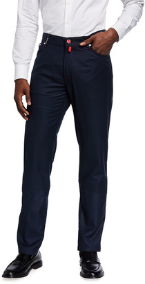 Kiton Men's Birdseye Wool 5-Pocket Pants