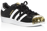 adidas Women's Superstar Metallic Toe Lace Up Sneakers