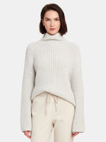 Vince Lofty Rib Turtleneck Sweater