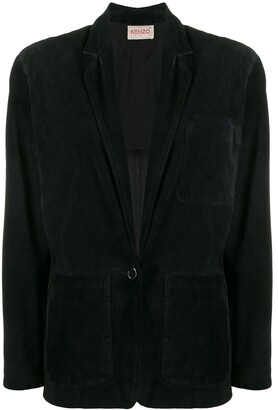Kenzo Pre-Owned 1980's Single Breasted Blazer
