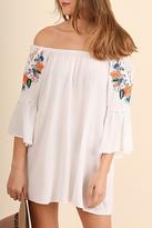 Umgee USA Embroidered Dress