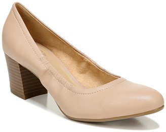 Naturalizer Lexington Stacked Block Heel Pump - Wide Width Available