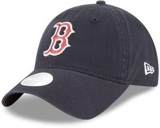 New Era Women's Boston Red Sox 9TWENTY Glisten Adjustable Cap
