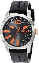 HUGO BOSS BOSS Orange Men's 1513059 Paris Analog Display Quartz Black Watch