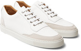Harrys Of London - Mr. Jones 2 Suede-panelled Leather Sneakers