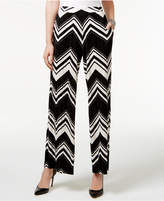 NY Collection Wide-Leg Soft Pants