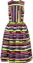 House of Holland Stephanie Striped Jacquard Dress - Bright pink