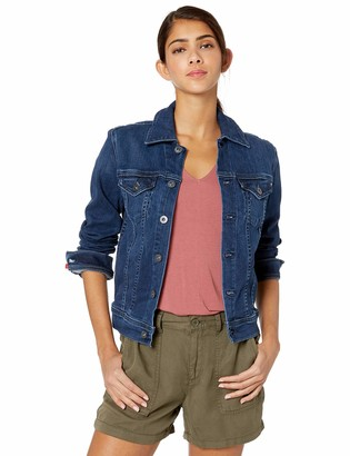 AG Jeans Women's Robyn Fitted Stretch Jean Jacket