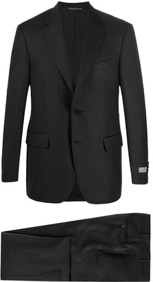 Canali Two-Piece Check Wool Suit