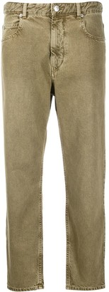 Etoile Isabel Marant High Rise Slim-Fit Jeans