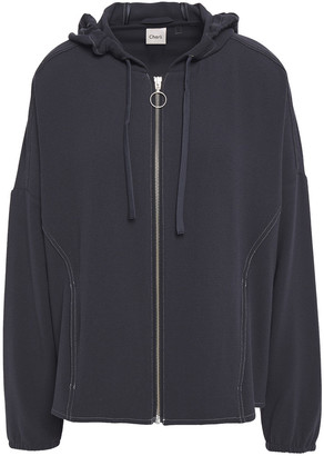 Charli Dagmar Crepe Hooded Jacket