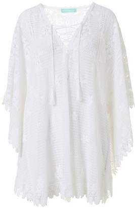 Melissa Odabash Cindy Lace Poncho Cover-Up