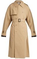Vetements X Mackintosh zip-back trench coat