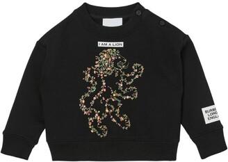 Burberry Kids Lion Montage Sweatshirt (3-14 Years)