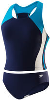 Speedo Girls 7-16 Multi-Colored Two-Piece Bathing Suit