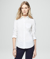 Aeropostale Long Sleeve Solid Woven Shirt